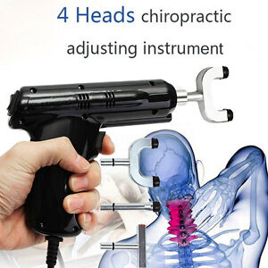 Electric Chiropractic Adjusting Tool Therapy Spine Activator Massager 110v 220v