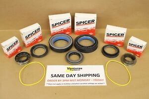 Complete Master Seal Kit Ford Super Duty F250 F350 Dana 50 Front Axle 98 02