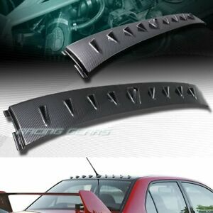 For Mitsubishi Lancer Evolution Carbon Style Roof Shark Fin Style Spoiler Wing