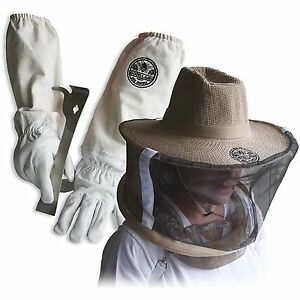Cotton Sheepskin Beekeeping Medium Gloves W Vail J hook Tool Glglv jhk vl m