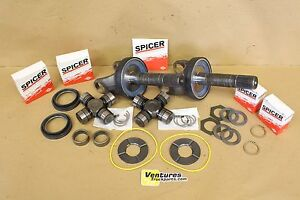 Ford F250 F350 Front Axle Shaft Seal And Bearing Kit Common Wear Items 98 04