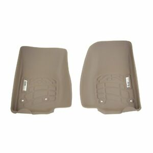 Wade Auto Floor Mats Front New Tan Jeep Wrangler 2007 2016 72 130066