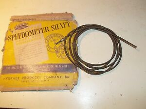 Nors 1941 Ford Passenger Commercial Hygrade Ss997 Speedometer Cable 11a 17262 A