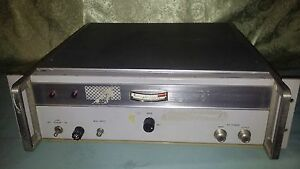 Hewlett Packard 491c Microwave Amplifier 2 0 4 0 Gc 115 230 Volts 50 60 Cycles