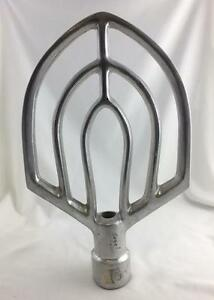 Paddle Attachment For Commercial Mixer 16 h X 10 w Excellent Condition