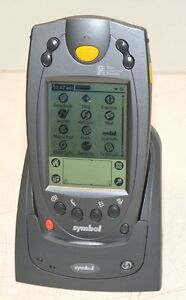 Symbol Spt1700 zrg20200 Palm Os Barcode Scanner Charger Data Stand Battery
