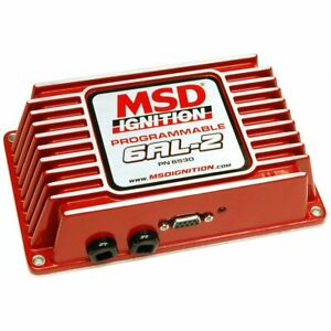 Msd 6530 Ignition Box Msd 6al 2 Digital Cd Programmable With Rev Limiter Red Ea
