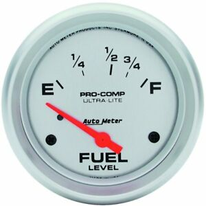 Autometer Fuel Gauge Gas New 4418