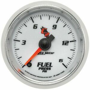 Autometer Fuel Pressure Gauge Gas New 7162