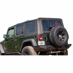 Rugged Ridge Soft Top New Tan Jeep Wrangler 2007 2009 13741 46