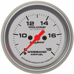 Autometer Air Fuel Ratio Monitor Gas New 4370