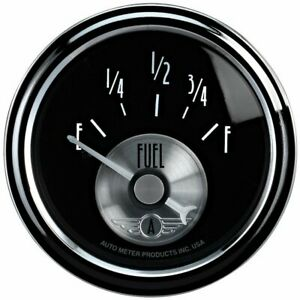 Autometer Fuel Gauge Gas New 2014