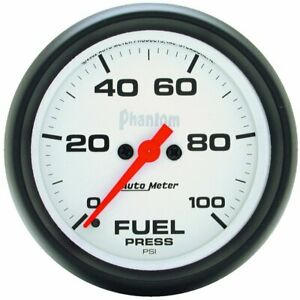 Autometer Fuel Pressure Gauge Gas New 5863