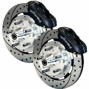 Wilwood Big Brake Kits 2 Wheel Set Front New For Chevy Olds Le Sabre 140 9053 D