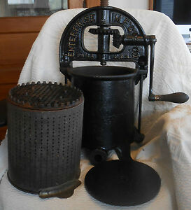 Antique Enterprise 2092 Sausage Press Philadelphia Pa Primitive Farm Kitchen