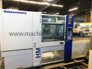 210 Ton 16 Oz Battenfeld hm Series Injection Molding Machine 05