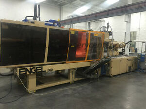 500 Ton 27 53 Oz Engel Injection Molding Machine 98