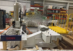 Star Robot 08 Gx 1800s For Injection Molding 5 Axis Servo