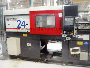120 Ton 4 44 Oz Cincinnati milacron Injection Molding Machine Recently Reduced