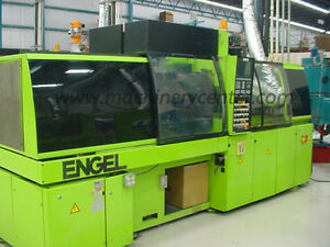 65 Ton 1 2 2 Oz Engel tiebarless Two Color Injection Molder 94