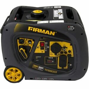 Firman W03081 Whisper Series 3000 Watt Inverter Generator W Rv Outlet
