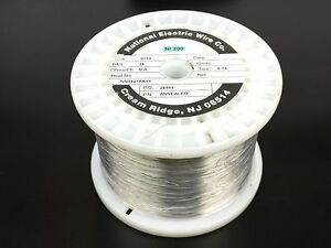 Pure Nickel Wire 26 Gauge 9 30 Lb 12 210 Ft Non Resistance Awg Ni200 Nickel 200