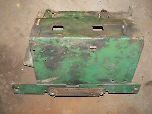 John Deere Tractor 2010 Fire Wall Battery Tray