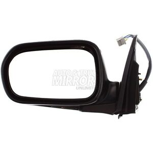 04 06 Acura Rsx Driver Side Mirror Replacement Heated