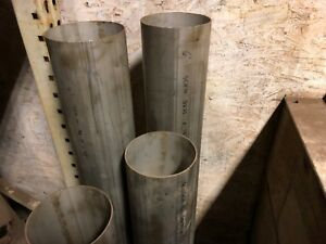 6 625 Od X 6 375 Id X 48 Long New 316 Stainless Steel Tube Pipe