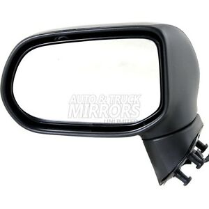 06 11 Honda Civic Driver Side Mirror Replacement Heated With Signal Lamp