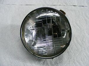 Mercedes Benz 220 250 280 Headlight With Trim Ring And Bucket Working