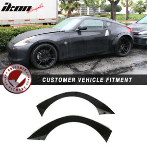 Universal 40 5 x17 5 Ikon Rb Style Fender Flares 2 Piece Flexible Durable Pu