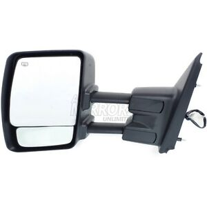 Fits Nv1500 12 13 Series Driver Side Mirror Replacement Heated Towing Chr