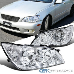 For 01 05 Lexus Is300 Clear Headlights Replacement Driving Head Lamps Left Right