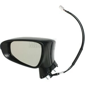 11 16 Lexus Ct200h Driver Side Mirror Replacement Heated With F Sport Pkg