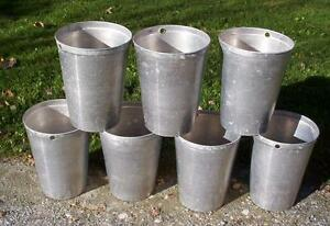 30 Aluminum Sap Buckets Maple Syrup Bucket Very Nice