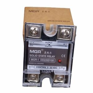 Us Stock 100a Solid State Relay Ssr Dc dc Input 3 32v Dc Load 5 220vdc Dd220d100