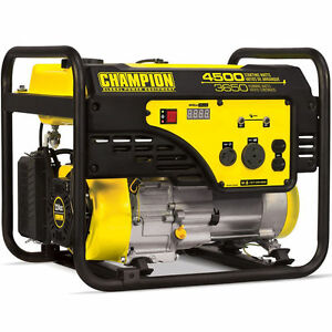 Champion 100331 3650 Watt Portable Generator W Rv Outlet