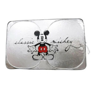 Mickey Mouse Disney Car Accessory 1 Folding Front Sunshade Windshield Sunshield