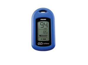 Nonin Medical Go2 Achieve Personal Fingertip Pulse Oximeter Blue 9570