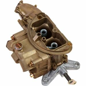 Holley Carburetor Oem Musclecar 500 Cfm 2 barrel Single Inlet Dichromate E