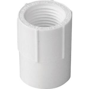 300 Pk Genova Pvc Sch 40 Pipe 3 4 Solvent Weld X Female Thread Adapter 30307