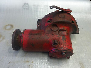 Farmall H Belt Pulley Drive