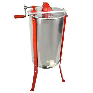 Honey Extractor 2 Frame Ss Bee Keeper Supply Honey Bee Hive Frame He2man