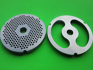 32 X 1 8 Stuffer Disc Meat Grinder Plates For Hobart Lem Cabelas Biro Etc