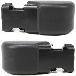 Bumper End Caps For 1997 2006 Jeep Wrangler Tj Set Of 2 Front Primed