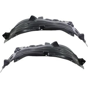Fender Liner Set For 2004 2015 Nissan Titan 2005 2007 Nissan Armada Front 2pc