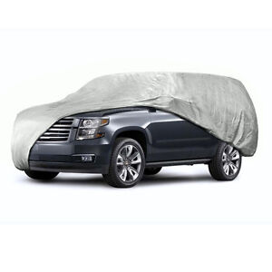 Anti Scratch Car Cover Universal Fit Large Size One Layer For Van And Suv