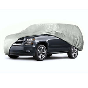 Anti Scratch Car Cover Universal Fit Large Size One Layer For Vans And Suvs