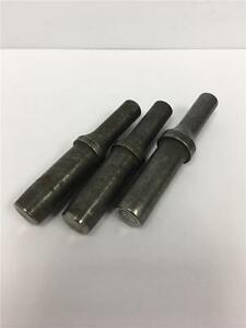 3pc Hi Shear Pneumatic 498 Shank Rivet Hammer 29 64 Set Holder Lot St104556b